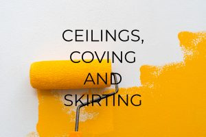 ceilings coving skirting